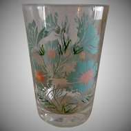 Federal Glass Company Boutonniere or Ever Yours Pattern Juice Glasses - Set of 6