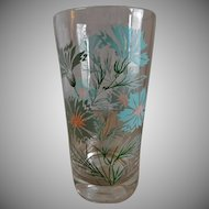 Federal Glass Company Boutonniere or Ever Yours Pattern Water Glasses - Set of 6
