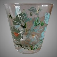 Federal Glass Company Boutonniere or Ever Yours Pattern Old Fashion Glasses - Set of 10
