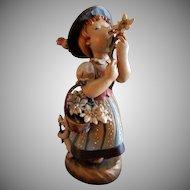 "Anri of Italy Carving ""Golden Blossom"" by Juan Ferrandiz"