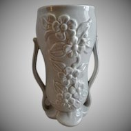 "Red Wing Pottery Mid-Century Embossed ""Floral"" Vase - 1360"
