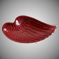 "Red Wing Pottery ""Wing"" Ash Tray"