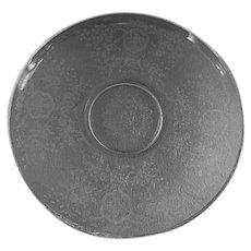"Fostoria Etched ""Buttercup"" Pattern Torte Plate"