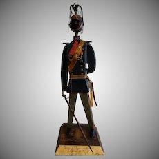 "Manuel Felguerez Mid-Century Modernist ""Military"" Metal Sculpture"