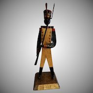 "Manuel Felguerez Mid-Century Modernist ""Military"" Metal Sculpture"