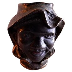 "A C Williams ""Two Faced"" Black Americana C. I. Coin Bank"