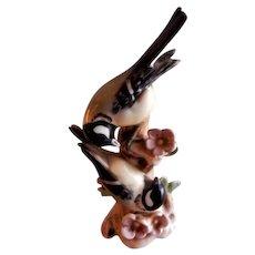 """Goebel """"Great Titmouse"""" Birds Figurine - TMK-3 Mark"""