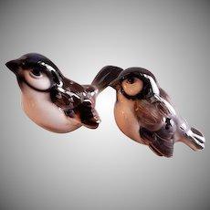 "Wien Keramos ""English Sparrows"" Figurines - Group of 2"