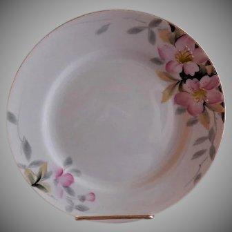 "Noritake ""Azalea"" Pattern Salad Plates - Green Backstamp - Set of 5"