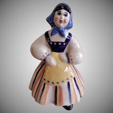 "Ceramic Arts Studio, Madison, WI ""Peasant Girl"" Figurine"