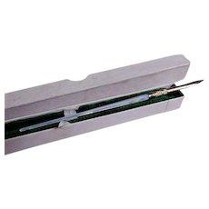 Vintage L. Jackson & Co MOP & Gold Plated Dip Pen w/Original Box