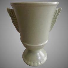 """Red Wing Mid-Century Embossed """"Wings"""""""" Vase - 1090"""