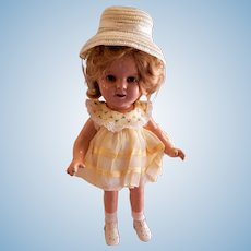 """Ideal Novelty & Toy Company 1934-1940 Shirley Temple 13"""" Celebrity Doll"""