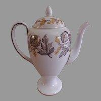 "Josiah Wedgwood & Sons ""Lichfield"" Pattern Coffee Pot"