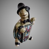 "Ceramic Arts Studio, Madison, WI ""Standing Dapper Turtle"" Figurine"