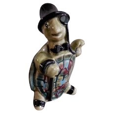 "Ceramic Arts Studio, Madison, WI ""Standing Dapper Turtle"" Figurine"