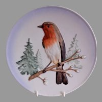 "Goebel First Edition ""Robin"" Wildlife Series Plate"