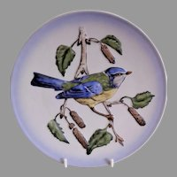 "Goebel Second Edition ""Blue Titmouse"" Wildlife Series Plate"