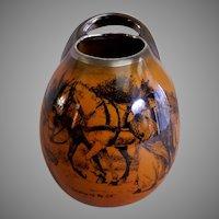 """Ridgway Pottery """"Coaching Days & Coaching Ways"""" Bud Vase w/Handle"""