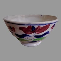 Allertons Persian Ware Stick Spatterware Bowl