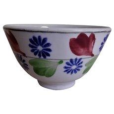 William Adams & Sons Stick Spatterware Bowl