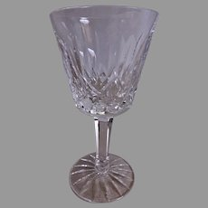 "Set of 2 - Waterford Crystal ""Lismore"" Pattern Claret Wines"