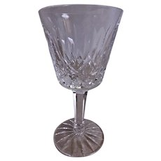 "Set of 2 - Waterford Crystal ""Lismore"" Pattern Claret Wines"