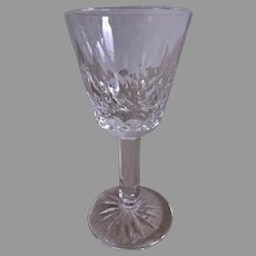 "Set of 4 - Waterford Crystal ""Lismore"" Pattern Small Liqueur/Cordials"