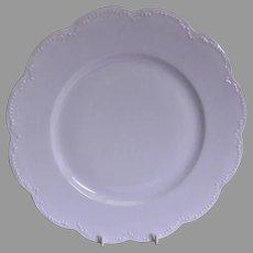 Charles Haviland & Co. Limoges - Blank #5 Plain White Dinner Plates - Set of 6