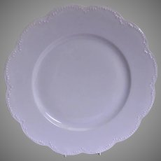 Charles Haviland & Co. Limoges - Blank #5 Plain White Dinner Plates - Set of 4