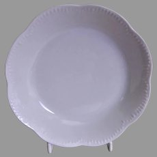 Charles Haviland & Co. Limoges - Blank #5 Plain White Sauces Bowls - Set of 6