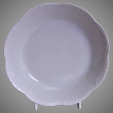 Charles Haviland & Co. Limoges - Blank #5 Plain White Sauces Bowls - Set of 6