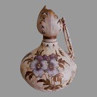 RSTK Templitz Art Nouveau Floral Motif Bud Vase