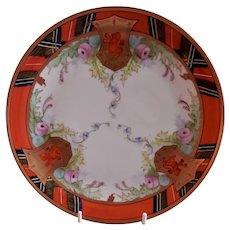 "Pickard Studio ""Scotch"" Cabinet Plate - Signed Passony"