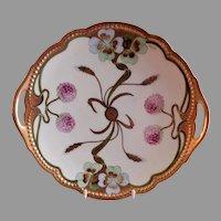 """Edward Donath Studio Art Nouveau """"Floral & Grain"""" Plate - Signed Koenig"""