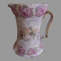 """Royal  Bayreuth """"Rose Tapestry"""" Cream Pitcher"""