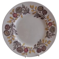 "Josiah Wedgwood & Sons ""Lichfield"" Pattern Dinner Plates - Set of 6"
