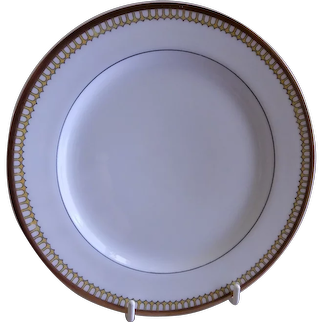 "Charles Haviland & Co. ""Art Deco"" Dessert Plates - Set of 5"