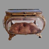 "1893  ""Columbian Exposition"" Souvenir Ring Casket"
