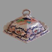 John Ridgway & Co. Imari Style Covered Tureen - Circa 1830's