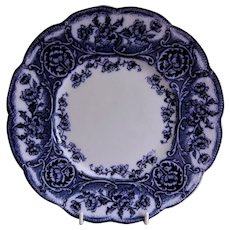 "Wedgwood & Co (Ltd) Blue Transferware ""Atalanta"" Pattern Luncheon/Salad Plate"