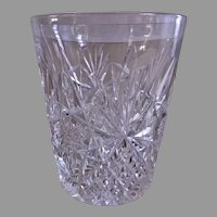 J Hoare & Co Brilliant Cut Glass Tumblers - Set of 4