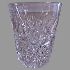 J Hoare & Co Brilliant Cut Glass Tumblers - Set of 4