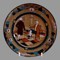 "Buffalo Pottery - Deldare Series ""At Ye Lion In"" Pattern Bread & Butter Plate"