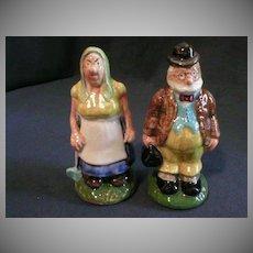 "Paul Webb ""Ma & Old Doc"" Blue Ridge Mt. Boys Salt & Pepper Set"
