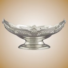 English Sterling Silver Comport