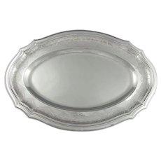 Cartier Sterling Silver Serving Platter
