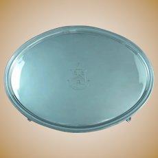German Silver Cake Basket