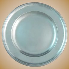 Austrian Silver Charger Plate