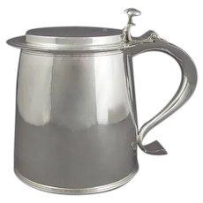 English Sterling Silver Tankard